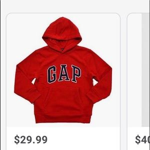 Red gap sweater Size Medium in Women and Men